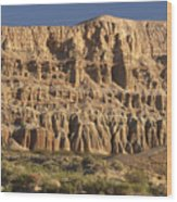 Red Rock Canyon State Park Wood Print