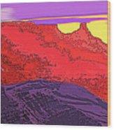 Red Rock Country - Southeastern Utah Wood Print