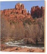 Red Rock Crossing Sedona Arizona Wood Print