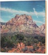 Red Rock II Wood Print