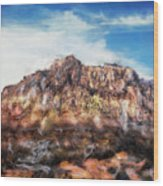 Red Rock IIi Wood Print