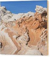 Red Rock Poseidon Wood Print