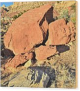 Red Rock Sunset Wood Print