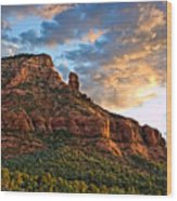 Red Rocks Sedona, Az Wood Print