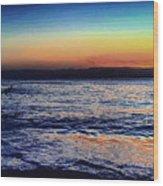 Red Sea Aqaba Wood Print
