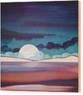 Red Sea Wood Print