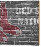 Red Sox Nation Wood Print