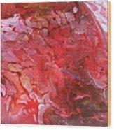 Red Velvet Wood Print