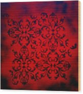Red Velvet By Madart Wood Print