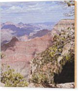 Red Wall - Grand Canyon Wood Print
