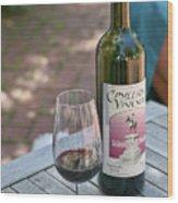 Red Wine Nectar Wood Print