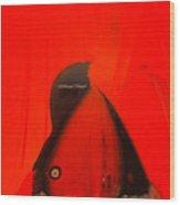 Red-y Wood Print