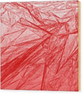 Red.285 Wood Print