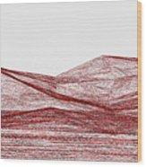 Red.317 Wood Print