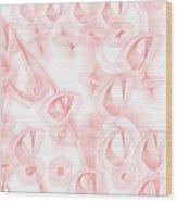 Red.449 Wood Print