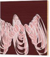 Red.482 Wood Print
