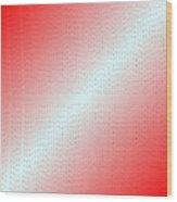 Red.5 Wood Print