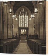 Redemption - Church Of Heavenly Rest #3 Wood Print