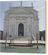 Redentore Church In Venice Wood Print