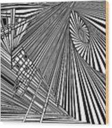 Rednoweht Wood Print