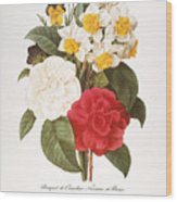 Redoute: Bouquet, 1833 Wood Print