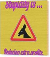 Reducing Bigstock Donkey 171252860 Wood Print