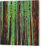 Redwoods Majestic 2 Wood Print