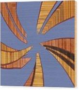 Reeds 2 Wood Print