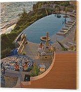 Reef Hotel Wood Print