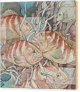 Reef Story Wood Print