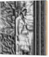 Reflected Signal Wood Print