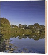Reflected Tranquility Wood Print
