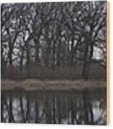 Reflecting On Burnidge Wood Print