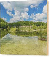 Reflecting Tranquility Wood Print