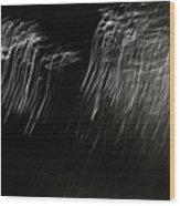Reflection Abstract 421 Wood Print
