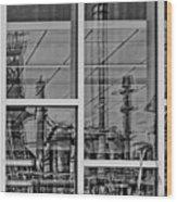 Reflection Wood Print by DJ Florek