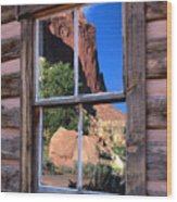 Reflection Of Beauty Wood Print