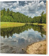 Reflection Of Nature Wood Print