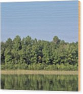 Reflection - On - The - Water Wood Print