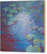Reflection Pond With Liles Wood Print