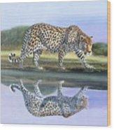 Reflection Stalk Wood Print