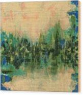 Reflections 2 Wood Print