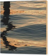 Reflections Abstract Wood Print