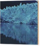 Reflections - Glacier Wood Print
