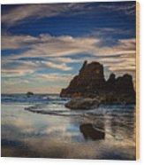 Reflections Of Arcadia Wood Print