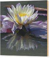 Reflections Of Beauty Wood Print