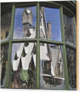 Reflections Of Christmas Wood Print