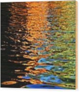 Reflections Of Eden Wood Print