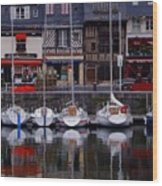 Reflections Of France Wood Print