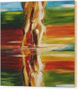 Reflections Of Glory Wood Print
